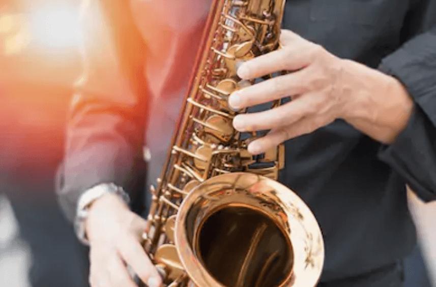 Jazz saxophone.